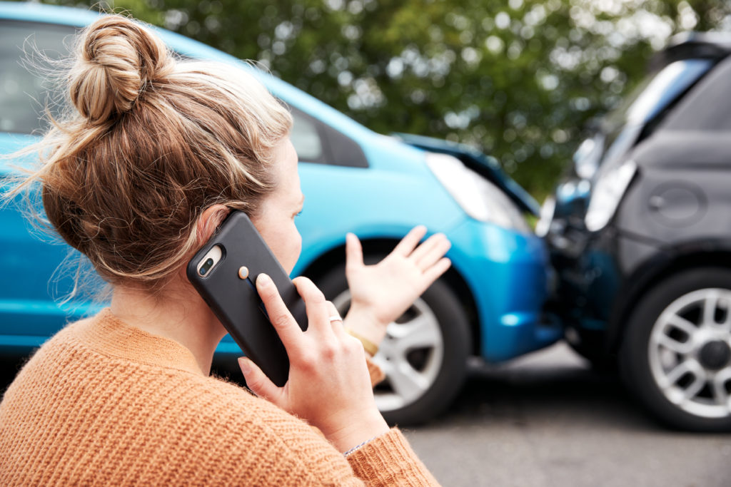 Who is the plaintiff in a car accident?